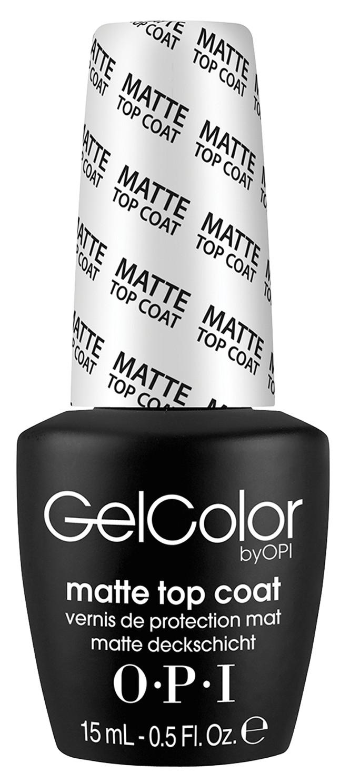 Купить OPI Покрытие верхнее для создания матового эффекта / Matte Top Coat GELCOLOR 15 мл