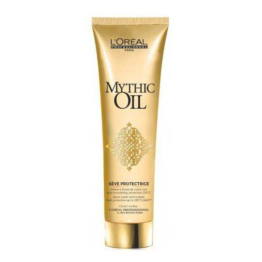 LOREAL PROFESSIONNEL Термо-крем Сев Протектрис / МИТИК ОЙЛ 150млКремы<br>Питательный крем является идеальным средством перед укладкой. Применяться как на сухие, так и на влажные волосы. Крем обогащен маслом черного тмина, которое питает и обволакивает волосы защитным слоем, обеспечивая термозащиту до 230 С. Идеально подходит для сухих и поврежденных волос. Идеален для использования перед укладкой феном или выпрямления щипцами. Активные ингредиенты: масло черного тмина. Способ применения: нанесите на вымытые, отжатые полотенцем волосы. Равномерно распределите по длине (от середины длины волос) и кончикам волос. Не смывайте. Уложите волосы феном.<br><br>Вид средства для волос: Питательный