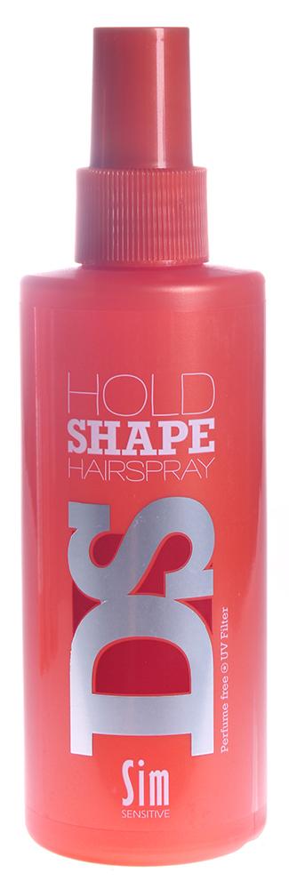SIM SENSITIVE Спрей для укладки волос Холд Шейп / Hold Shape Hairspray DS 200млСпреи<br>Стайлинг-спрей для сильной фиксации, позволяет моделировать укладку и сохранять ее в течении всего дня. Хорошо фиксирует и запоминает форму. Обеспечивает максимальную фиксацию для всех типов волос и причесок. Этот закрепляющий спрей дает вам полноценный контроль ваших волос в любую погоду. Без парабенов и консервантов. Фиксация: 5 Объем: 5 Блеск: 4 Способ применения: Равномерно нанесите состав на влажные волосы или на сухие волосы с расстояния 20-30 см., затем уложите волосы в прическу.<br>
