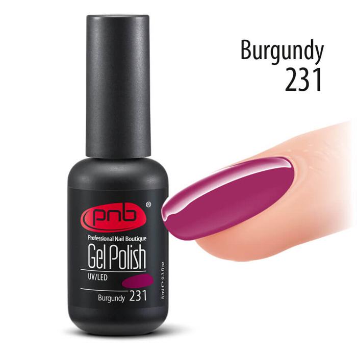 Купить PNB 231 гель-лак для ногтей / Gel nail polish PNB 8 мл