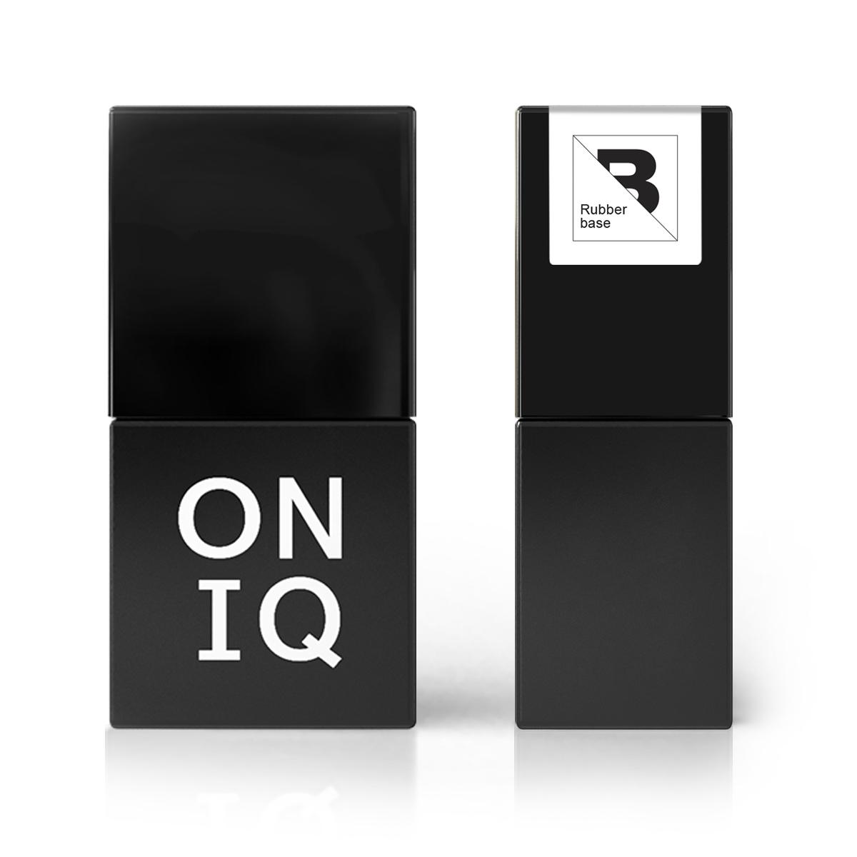 Купить ONIQ Покрытие базовое, прозрачное каучуковое / Rubber base 10 мл