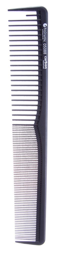 HAIRWAY Расческа Carbon Advance комбинированная 180ммРасчески<br>Сверхпрочный материал. Зубчики не деформируются при использовании. Антистатический эффект. Устойчивость к воздействию красок и химических препаратов.<br>