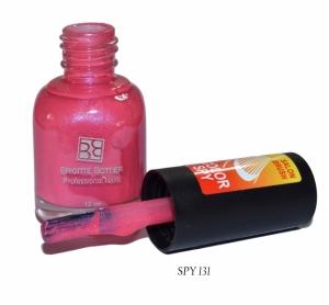 BRIGITTE BOTTIER Лак для ногтей тон SPY 131 ярко-розовый/нежно-розовый / Color Spy 12млЛаки<br>Лаки Сolor Spy являются термолаками, то есть изменяют интенсивность цвета в зависимости от температуры. На рисунке палитры тона вверху отражают цвета при комнатной температуре, а внизу изменение цвета при варьировании температуры от низкой к высокой. Лак удивит Вас своими волшебными изменениями, благодаря которым Ваш маникюр будет интересным и неповторимым. Способ применения: 1.Нанесите 2 слоя лака Color Spy, дождитесь полного высыхания каждого слоя. 2. Не наносите Top Coat, это изменит фактуру и свойства лака Color Spy.<br><br>Цвет: Розовые