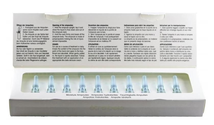 ETRE BELLE Ампулы Увлажнение (Moistturizing Ampoules) 10*1.5млАмпулы<br>Ампулы Увлажнение (Moisturizingr Elastin Ampoules) эффективное средство для увлажнения кожи. Это средство восстанавливает липидный и водный баланс на клеточном уровне. Происходит обновление клеток кожи. При регулярном использовании Ампул Увлажнение (Moisturizingr Elastin Ampoules) кожа приобретает здоровый и свежий вид. Кожа становится гладкой, нежной, упругой и эластичной. Активные вещества препарата эффективно увлажняют кожные покровы.  Активные ингредиенты: Специальный увлажняющий комплекс, мочевина, гиалуроновая кислота, коллаген, аллантоин.  Способ применения: Средство рекомендуется использовать после проведения лечебного курса АНА кислотами, способствующими восстановлению влаги. Нанесите препарат на очищенную кожу утром и вечером, а затем воспользуйтесь кремом. Если кожа склонна к отекам, то лучше использовать средство только утром. Для сухих и потрескавшихся рук рекомендуется наносить средство под крем.<br><br>Вид средства для лица: Увлажняющий<br>Типы кожи: Сухая и обезвоженная