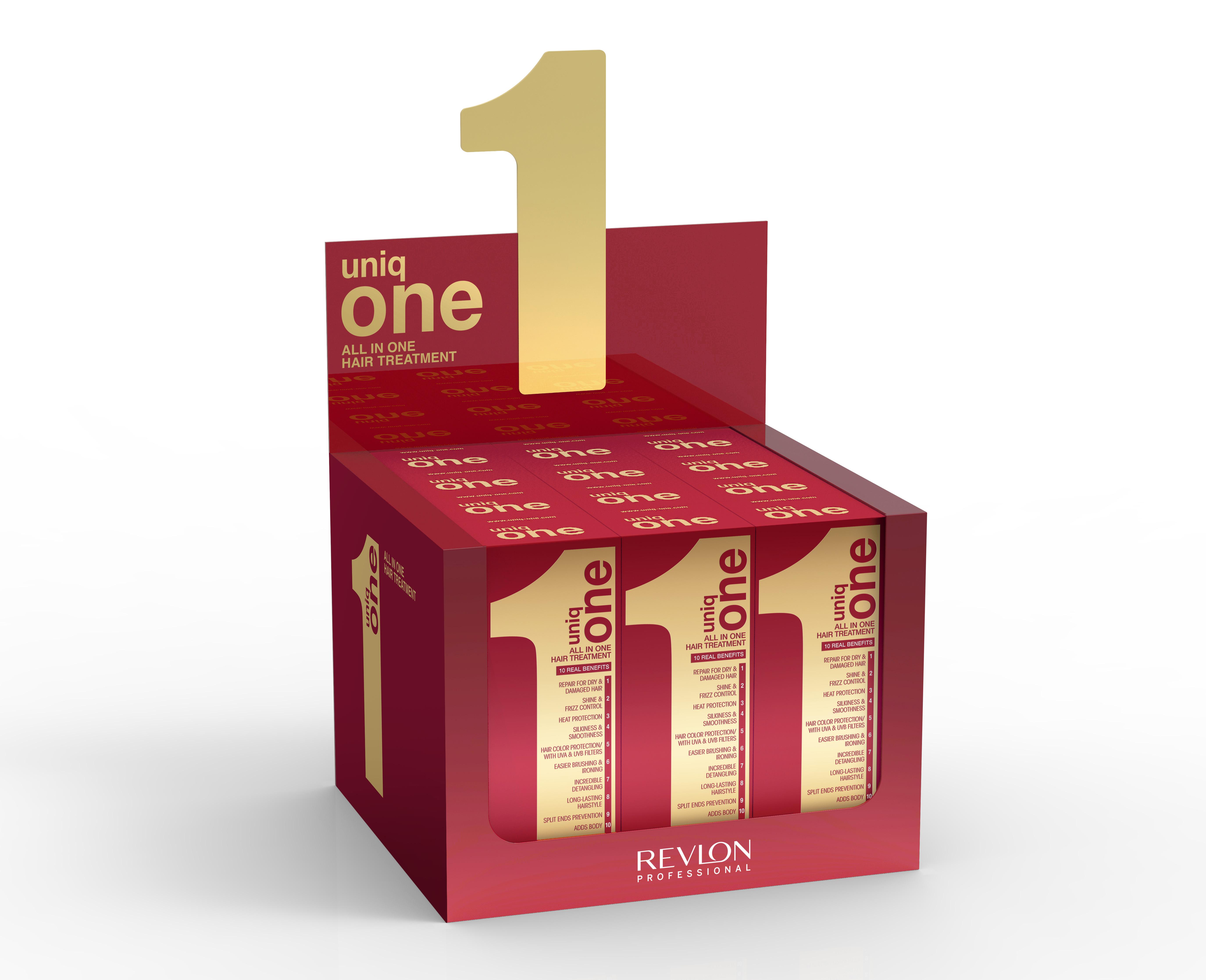 REVLON Professional Набор масок-спрей несмываемая / Uniq One 150 мл (1 коробка = 12 шт.)