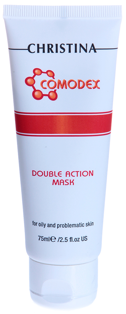 CHRISTINA Маска двойного действия для проблемной кожи / Double Action Mask COMODEX 75мл