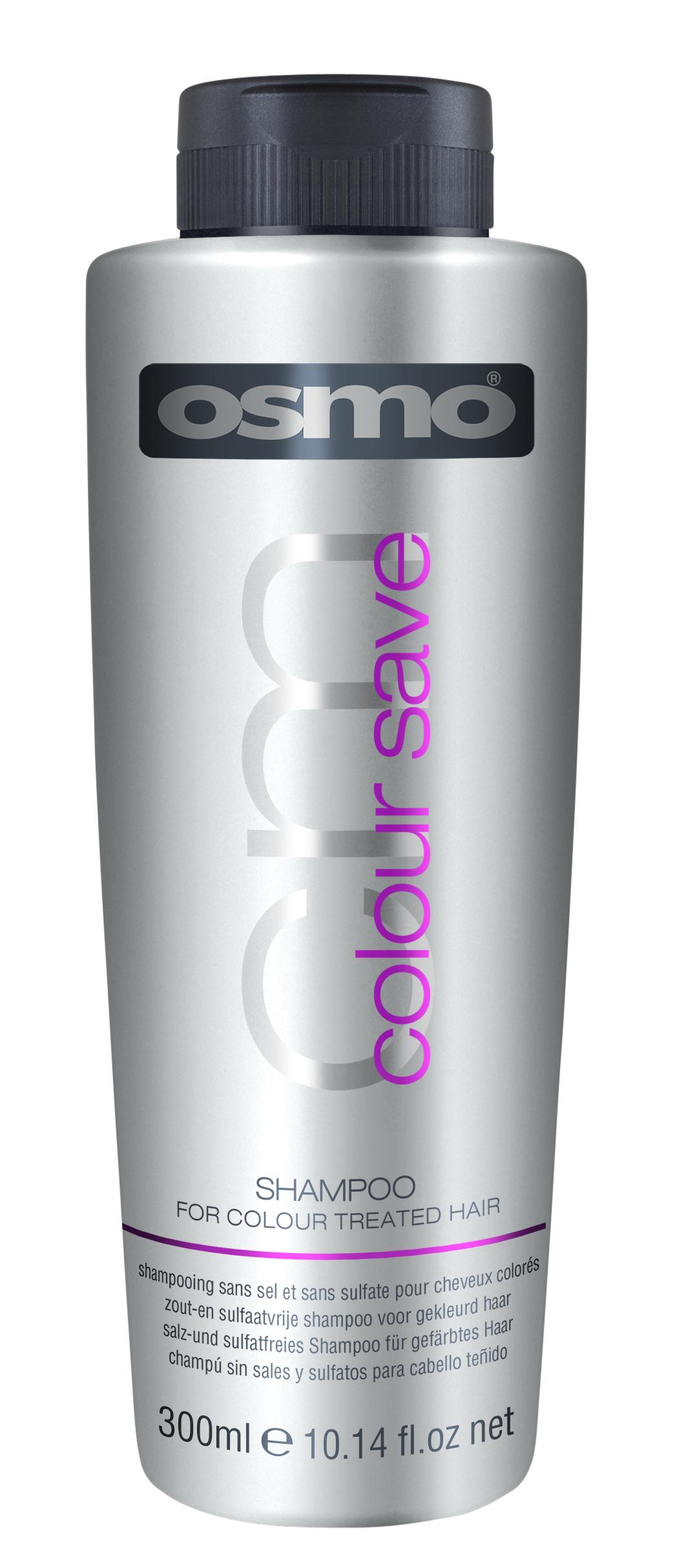 OSMO Шампунь для окрашенных волос Сохранение цвета / Color Save 300мл osmo part1
