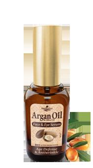 MADIS Сыворотка для лица и кожи вокруг глаз антивозрастная против морщин / ArganOil 30мл