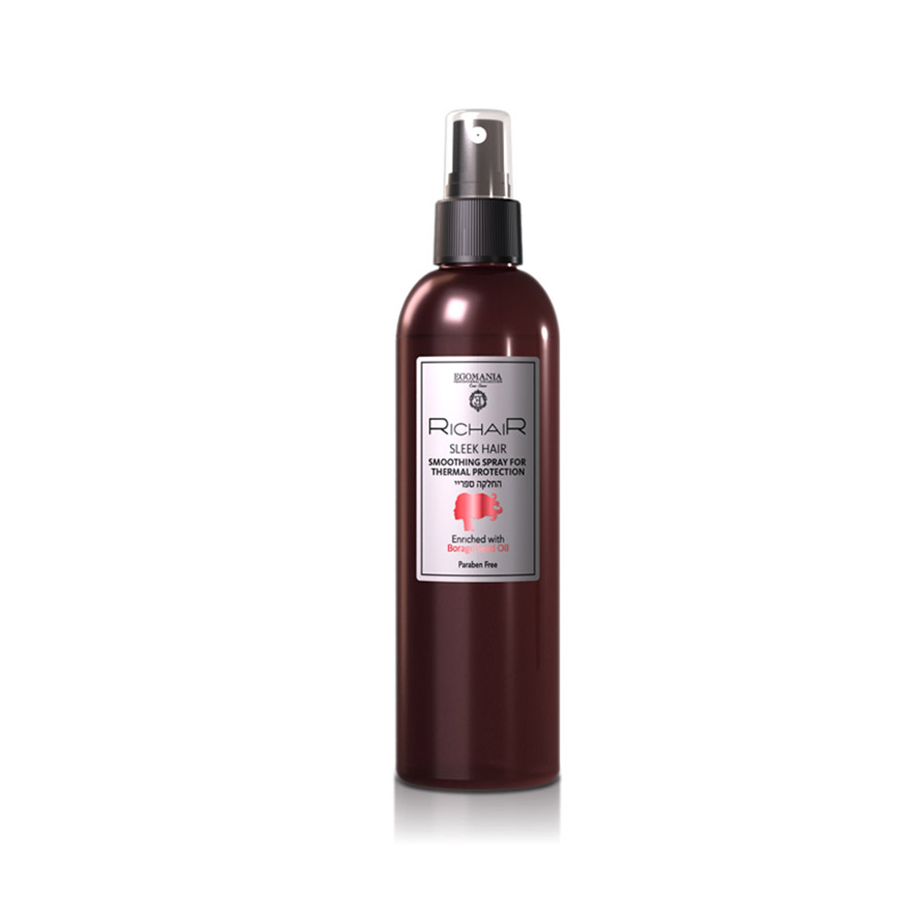 EGOMANIA Спрей-термозащита для гладкости и блеска волос 250 мл.