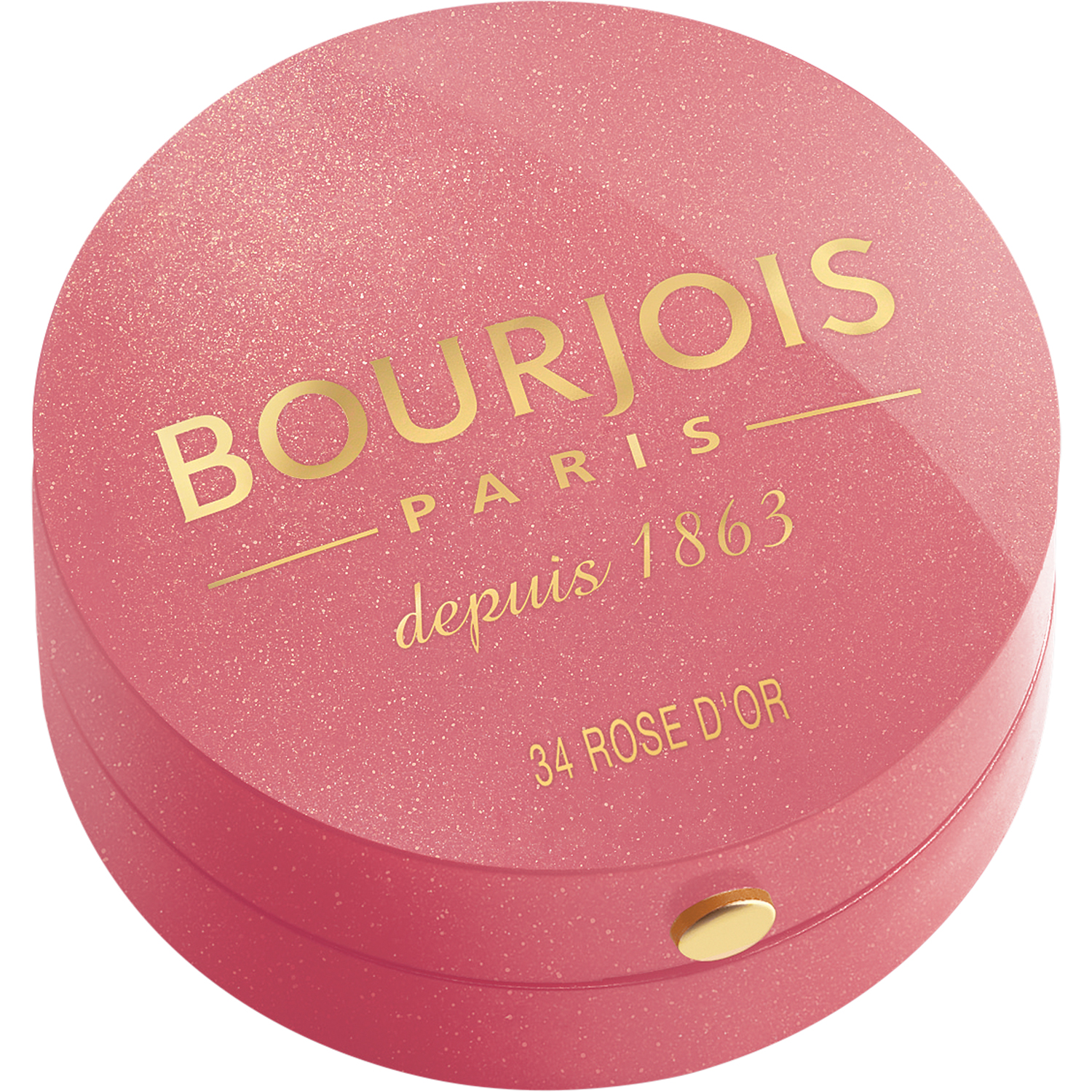 BOURJOIS Румяна для лица 34 / Blusher rose d`or - Румяна