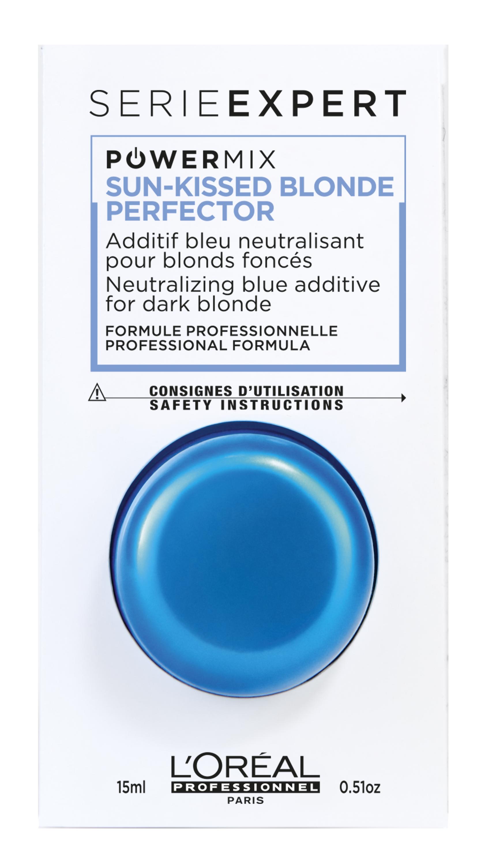 LOREAL PROFESSIONNEL Флюид-добавка c синим пигментом / POWERMIX ШОТ BLUE 15 мл
