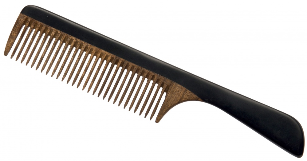 DEWAL PROFESSIONAL Расческа с ручкой Сандал 20см -  Расчески