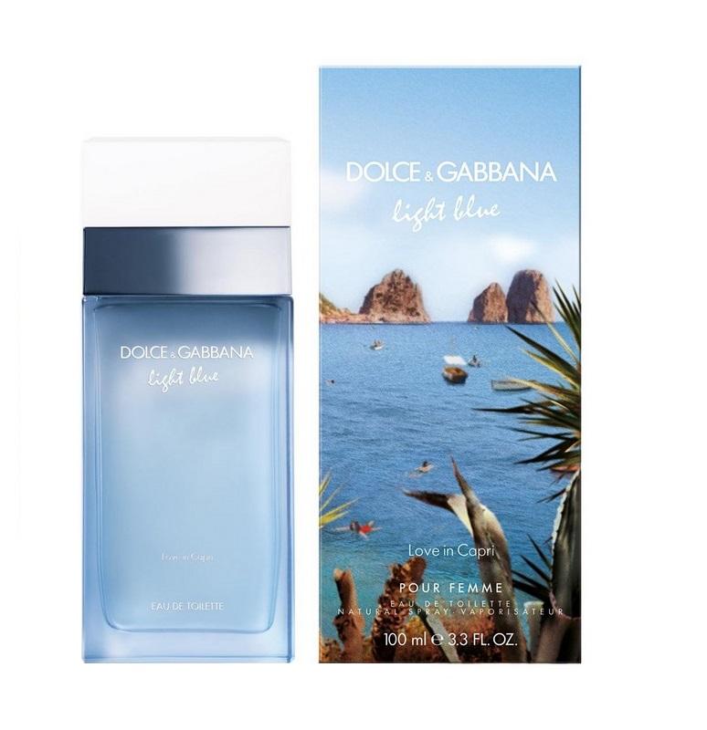 DOLCE&GABBANA Вода туалетная женская Dolce&Gabbana Light Blue Love In Capri 100 мл