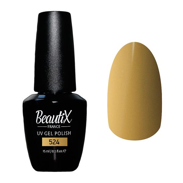 Купить BEAUTIX 524 гель-лак для ногтей 15 мл, Коричневые