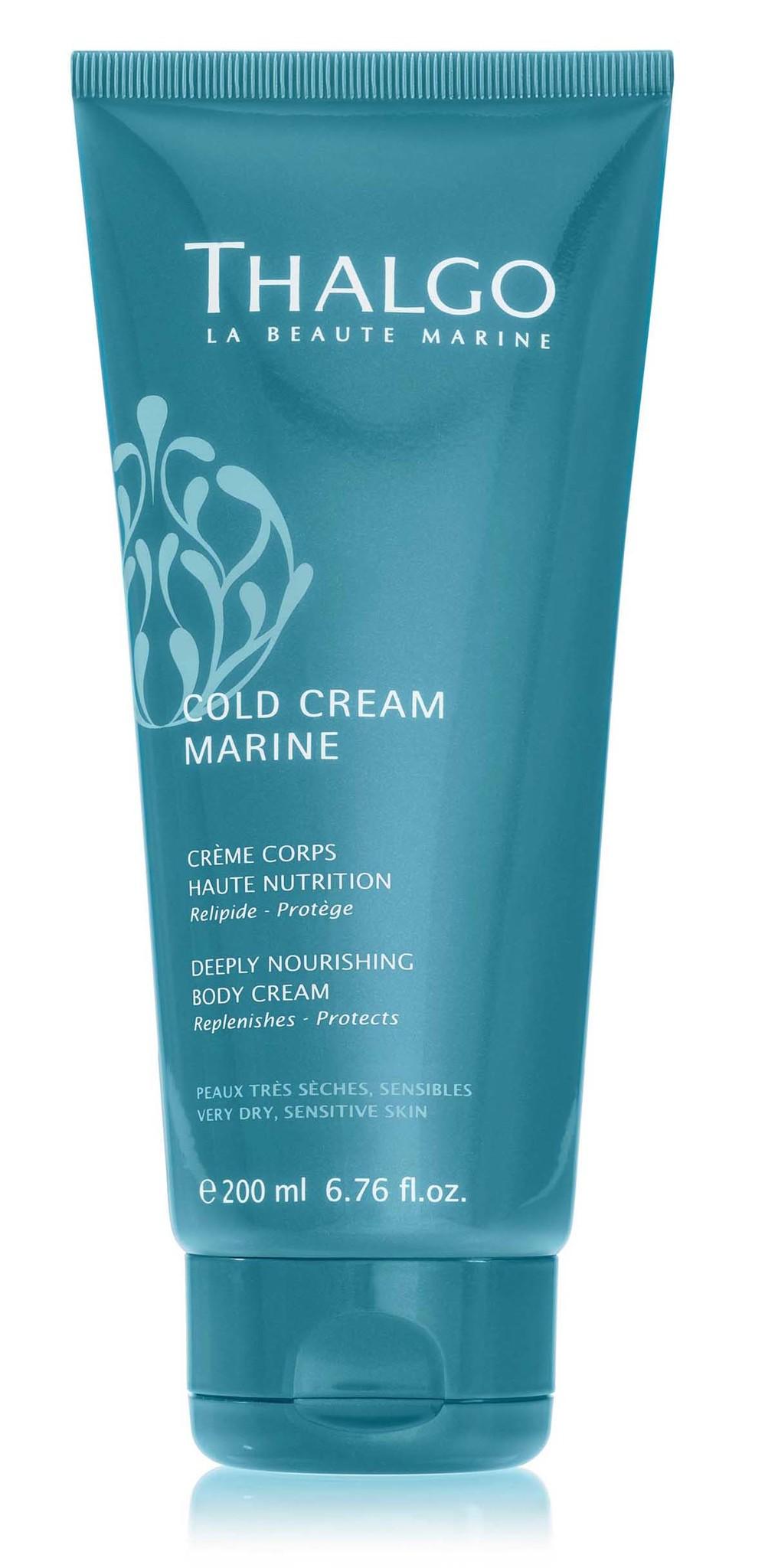 THALGO Крем восстанавливающий насыщенный для тела / Cream Marine Deeply Nourishing Body Cream 200 мл