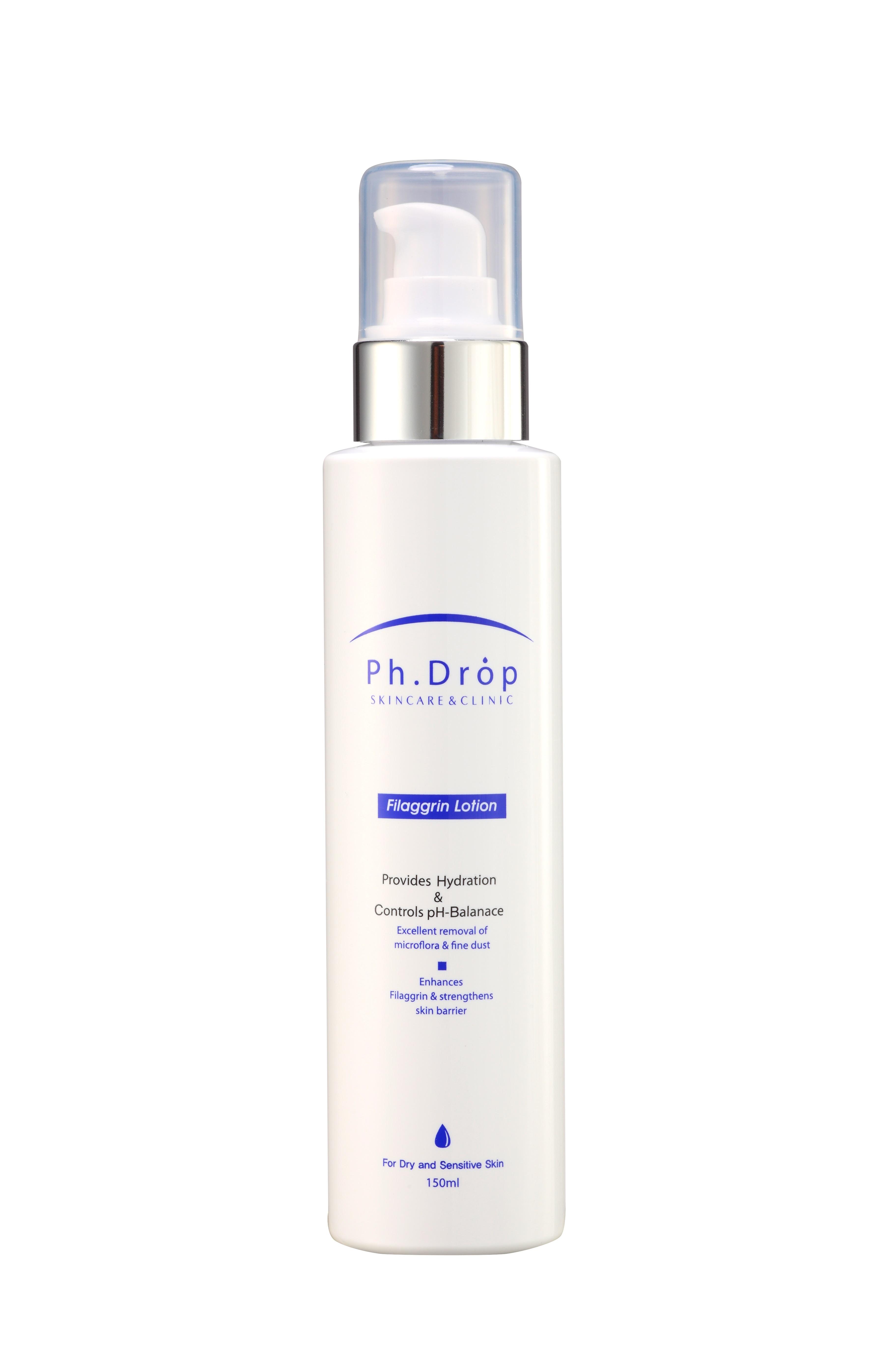 Ph.drop эмульсия увлажняющая для сухой и чувствительной кожи / filaggrin lotion 150 мл