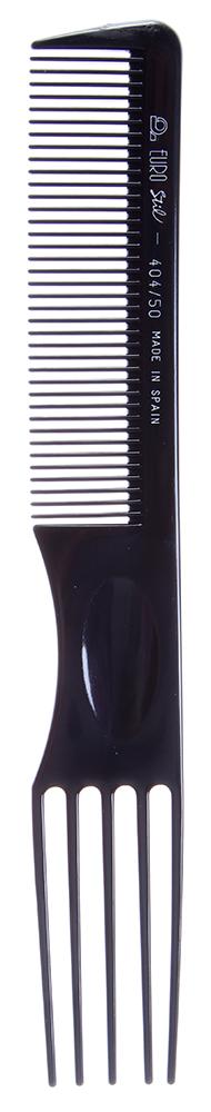 EUROSTIL Расческа ES вил/пла. 00404Расчески<br>Расческа пластиковая Eurostil 00404. Длина 185 мм. Вилка. Пластик.<br>