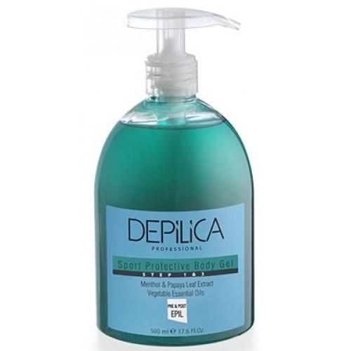 DEPILICA PROFESSIONAL Гель очищающий и защитный для тела / Sport Cleansing and Protective body gel 500мл