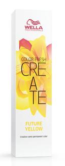 Wella professionals краска оттеночная для ярких акцентов, больше чем желтый / cf create 60 мл