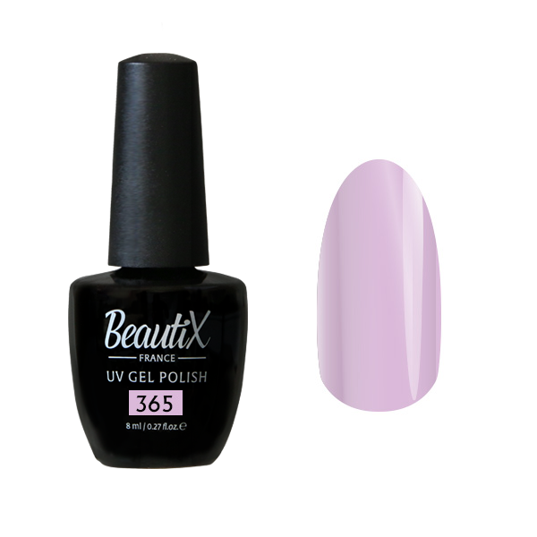 Купить BEAUTIX 365 гель-лак для ногтей 8 мл, Фиолетовые
