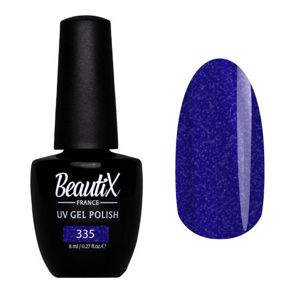 BEAUTIX 335 гель-лак для ногтей 8 мл, Синие  - Купить