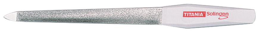 TITANIA Пилка для ногтей 17.5 см изогнутая 1049/7