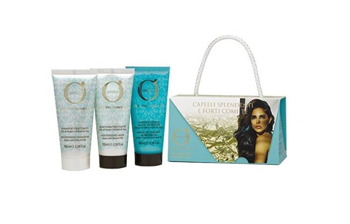 BAREX Набор для волос Золото Марокко (шампунь 100 мл, маска 100 мл, гель для душа 100 мл) / OLIOSETA ORO DEL MAROCCO