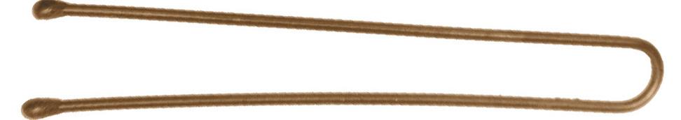 DEWAL PROFESSIONAL Шпильки коричневые, прямые 45 мм, 200 г (в коробке)