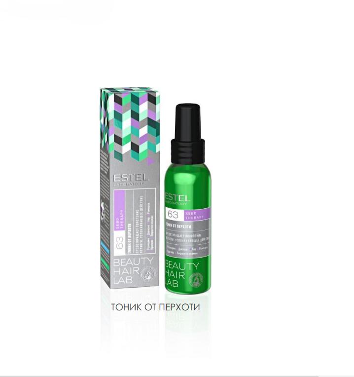 ESTEL PROFESSIONAL Тоник от перхоти для волос / BEAUTY HAIR LAB SEBO THERAPY 100 мл estel шампунь beauty hair lab антистресс для волос 250 мл