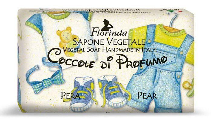 FLORINDA Мыло растительное, груша / Pera 200 г