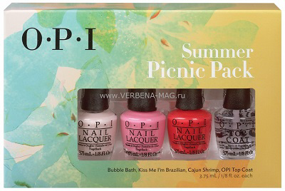 "OPI ���� ���� ����� ""Summer Picnic Pack"""