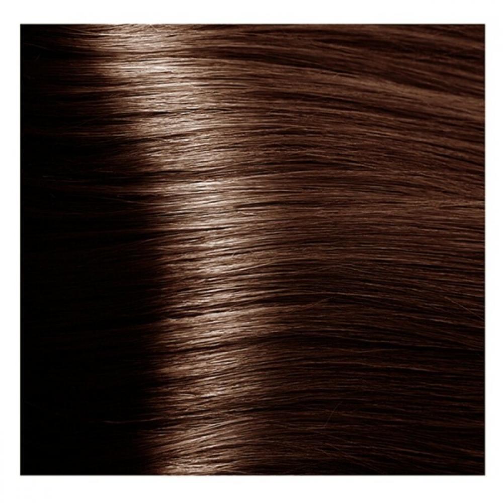 Купить KAPOUS NA 6.35 краска для волос, темный янтарно-каштановый блонд / Magic Keratin 100 мл