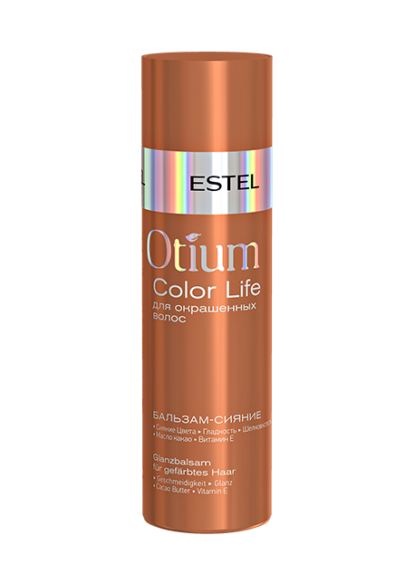 ESTEL PROFESSIONAL Бальзам-сияние для окрашенных волос / OTIUM COLOR LIFE 200 мл