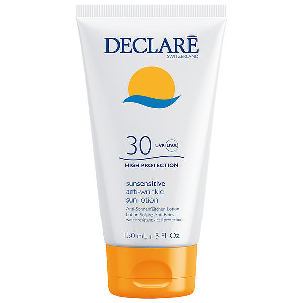 DECLARE Лосьон солнцезащитный с омолаживающим действием SPF 30 / Anti-Wrinkle Sun Lotion 150мл