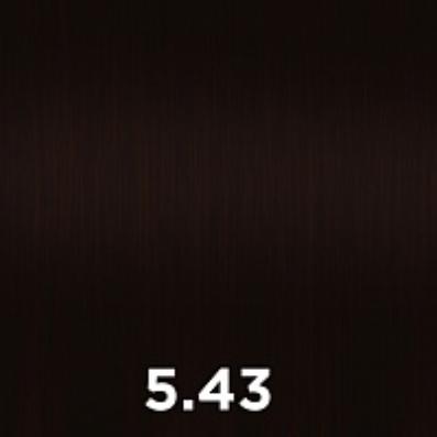 Купить CUTRIN 5.43 крем-краска для волос, светло-коричневое медное золото / AURORA 60 мл