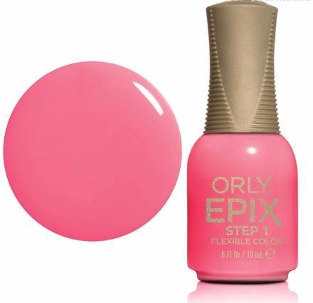 ORLY Покрытие эластичное цветное 943 PCH Put The Top Down /EPIX Flexible Color 18мл orly epix flexible sealcoat топ 18 мл