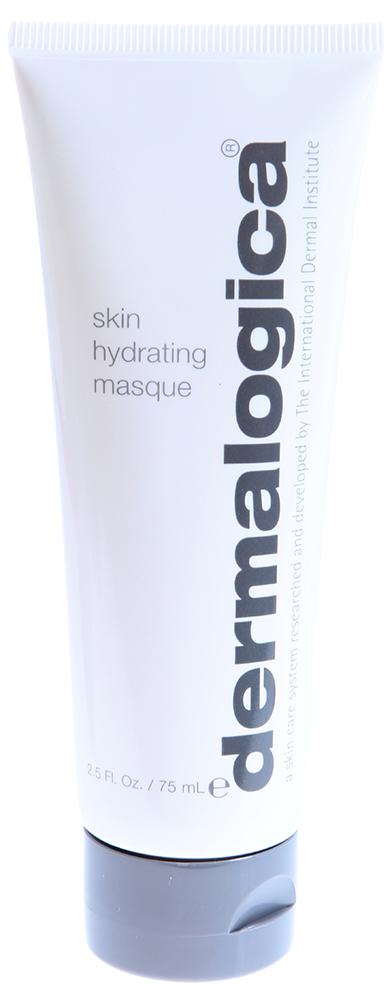 DERMALOGICA Маска увлажняющая / Skin Hydrating Masque 75млМаски<br>Увлажняющая Маска Skin Hydrating Masque обеспечивает пролонгированное увлажнение, поддерживая естественный баланс влаги в коже. Маска восстанавливает защитный барьер, который необходим для оптимального здоровья кожи и обеспечения ее мягкости. Гиалуроновая кислота улучшает эластичность кожи, антиоксиданты масло семян томата и экстракт корня моркови оживляют стрессированную кожу и восстанавливают липидный барьер.  Активные ингредиенты: Гиалуроновая кислота, зеленая водоросль, комплекс аминокислот и сахаров, экстракт семян томата, канадского кипрея, корня моркови.  Способ применения: Равномерно нанесите маску на очищенную кожу лица и шеи. Оставьте на 7-10 минут, затем тщательно смойте теплой водой или с помощью специально губки. Используйте 1-2 раза в неделю.<br><br>Типы кожи: Сухая и обезвоженная