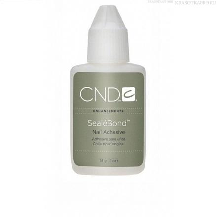 CND Клей водоустойчивый для шелка, файбера и льна / SealeBond 14 г - Ремонт