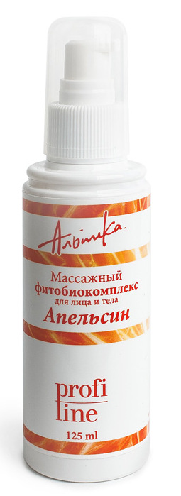 АЛЬПИКА Масло массажное для лица и тела Фитобиокомплекс, апельсин 125 мл - Масла