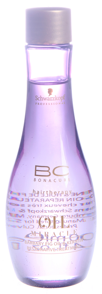 SCHWARZKOPF PROFESSIONAL Масло восстанавливающее / BC OIL MIRACLE BARBARY FIG OIL 100 мл шампунь schwarzkopf professional miracle barbary fig oil