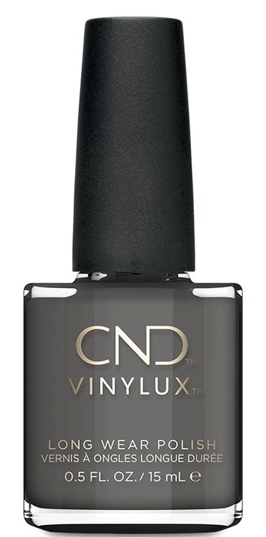 Купить CND 296 лак недельный для ногтей / Silhouette VINYLUX 15 мл, Серые