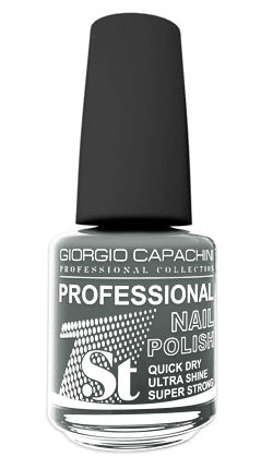 GIORGIO CAPACHINI 64 лак для ногтей, серый гранит / 1-st Professional 16 мл фото