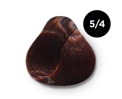 OLLIN PROFESSIONAL 5/4 краска для волос, светлый шатен медный / OLLIN COLOR 60 мл