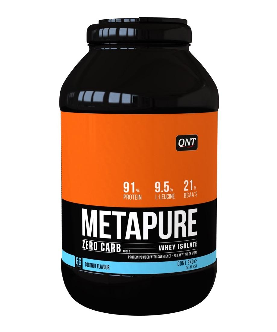 Купить QNT Добавка биологически активная к пище Метапьюр зеро карб, кокос / ZERO CARB METAPURE Coconut 2 кг