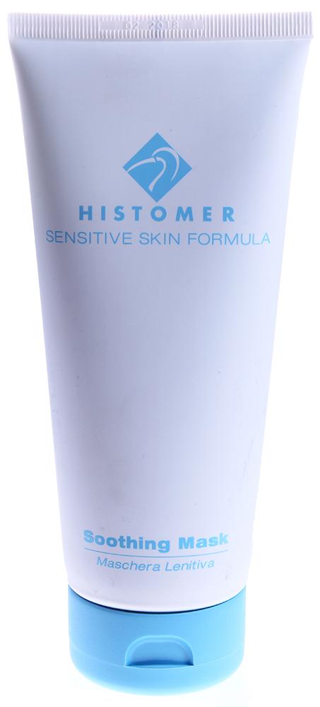 HISTOMER Маска успокаивающая для гиперчувствительной кожи / Soothing Mask SENSITIVE SKIN FORMULA 200млМаски<br>Быстро снимает покраснения различной этиологии, усиливает и тонизирует поверхностные капилляры, защищает поврежденный или раздраженный эпидермис, успокаивает кожу, снимает шелушение и зуд.  Активные ингредиенты: Хистомерные клетки корней дуба, восстановительный комплекс Repair Complex CLR (Лизат бифдобактерий), бисаболол, экстракты кувшинки и иглицы шиповатой, троксерутин.  Способ применения: Нанесите маску на хорошо очищенную кожу лица и шеи, дайте высохнуть и через 15-20 мин смойте теплой водой.<br><br>Объем: 200<br>Вид средства для лица: Успокаивающий<br>Типы кожи: Чувствительная