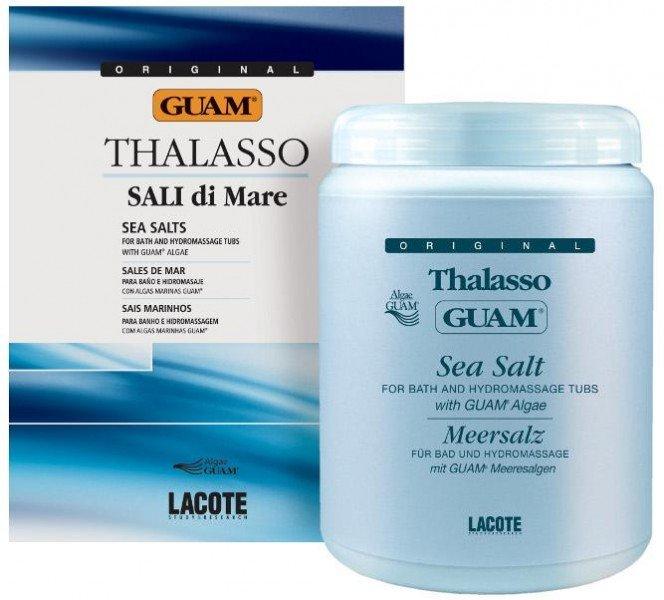 GUAM Фито-соль на основе водорослей для ванны / ALGHE SALINIZZATE 1000грСоли<br>Прием ванны с экстрактами водорослей, морскими солями и эфирными маслами прекрасно оздоравливает кожу, восстанавливает водно-солевой баланс и обогащает организм микро- и макроэлементами. Фито-солевые ванны прекрасно разогреют и подготовят кожу к любой прцедуре обертывания, а также снимут стресс и восстановят силы. Может использоваться для проведения программы Фито-солевое обертывание. Активные ингредиенты: Экстракт водорослей GUAM, морские соли, лавандовое масло, лимонное масло. Способ применения: Насыпьте 5-6 ложек соли в пустую ванну или гидромассажную ванну, заполните ее горячей водой. Соль растворится за несколько минут.<br><br>Объем: 1000
