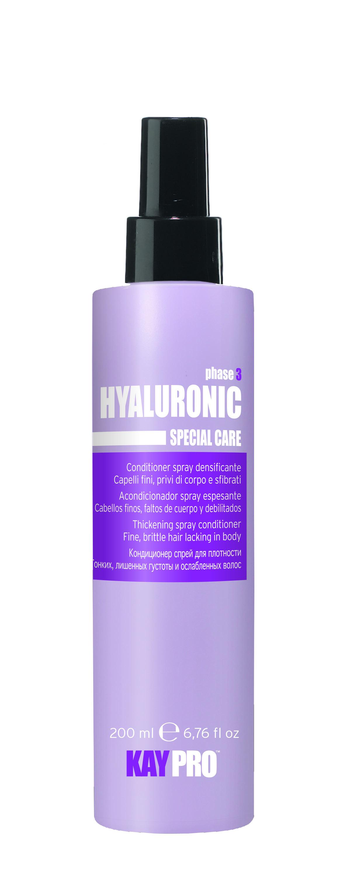 KAYPRO Кондиционер-спрей с гиалуроновой кислотой для плотности / KAYPRO 200мл