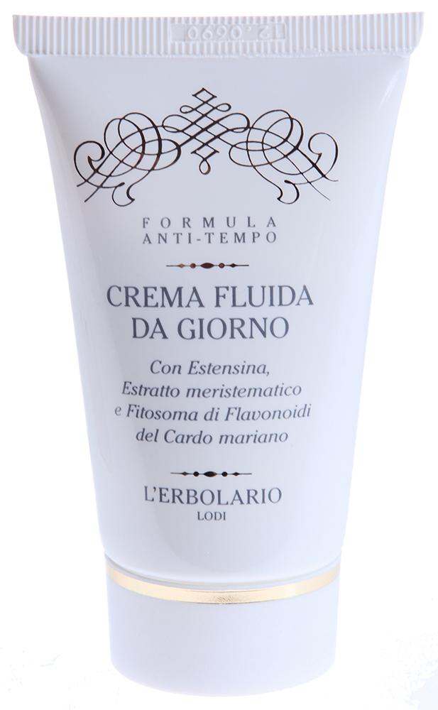 LERBOLARIO Крем жидкий дневной с растительным коллагеном,меристематическим экстрактом и фитосомами флавоноидам