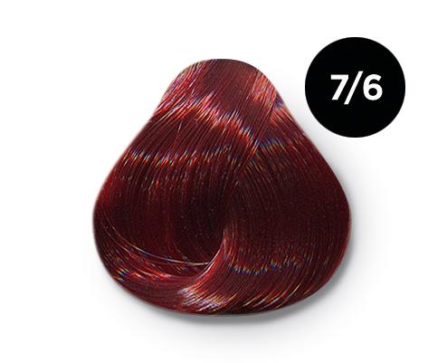 OLLIN PROFESSIONAL 7/6 краска для волос, русый красный / OLLIN COLOR 60 мл