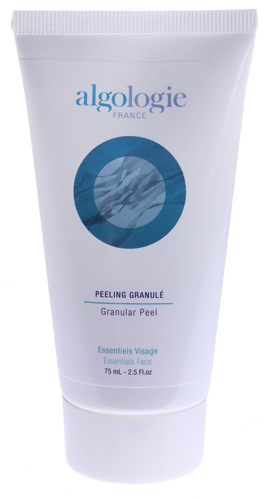 ALGOLOGIE Пилинг с гранулами 75млПилинги<br>Peeling Granule от Algologie это великолепное средство для глубокого очищения кожи лица и тела. Имеет нежный розовый цвет. Состоит из натуральных компонентов. Снимает с поверхности кожи ороговевшие клетки, стимулирует нормальную микроциркуляцию крови, мгновенно возвращает коже здоровый цвет. Рекомендуется применять для нормальной и жирной кожи. Обладает свойством впитывать излишки кожного сала и выводить загрязнения различной степени.  Активные ингредиенты: Экстракт ламинарии, планктон, витамин F, полиэтиленовые гранулы, кукурузное масло.  Способ применения: Применяйте несколько раз в неделю для глубокого очищения кожи. Нанесите небольшое количество Peeling Granule от Algologie на слегка влажную кожу лица и тела, оставьте на несколько минут, затем помассируйте круговыми движениями и смойте теплой водой.<br><br>Объем: 125<br>Вид средства для лица: Глубокий
